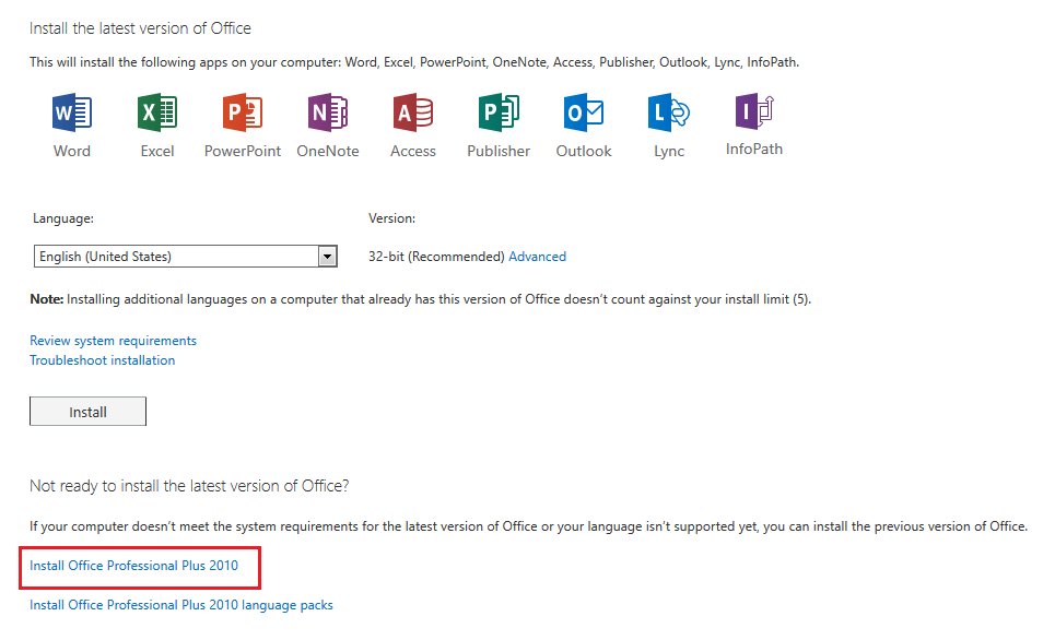 office 2010 compatibility pack windows 7